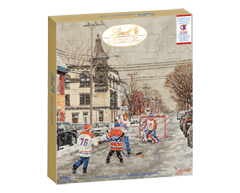 Image of product Lindt - Chocolate Montreal Canadiens Advent calendar, 128 g