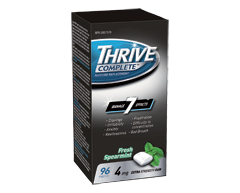 Image of product Thrive - Complete Nicotine Replacement Extra Strength Gum, 96 units, Fresh Spearmint