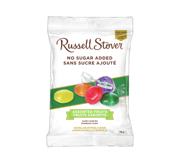 Assorted Fruits Hard Candies, 150 g