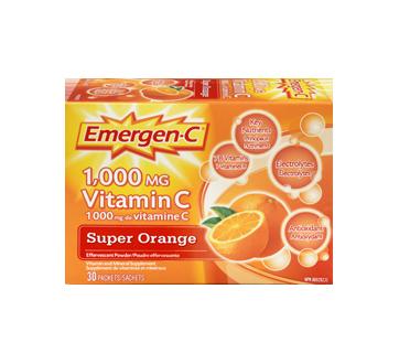 Image 3 of product Emergen-C - Emergen-C Vitamin C Super, 30 units, Orange