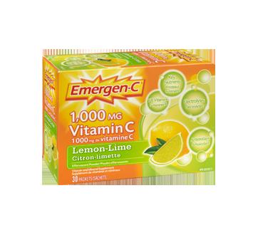 Image 2 of product Emergen-C - Emergen-C Vitamin C, 30 units, Lemon-Lime