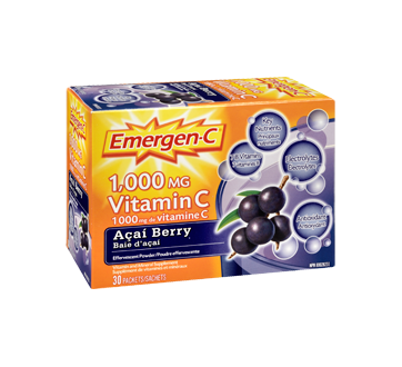 Image 2 of product Emergen-C - Emergen-C Vitamin C, 30 units, Acai Berry