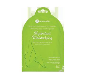 Moisturizing Refreshing and Soothing Mask Feet Socks, 1 unit