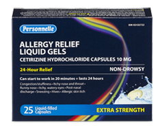 Image of product Personnelle - Allergy Relief, 25 units, Extra Strength