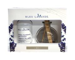 Image of product Bleu Lavande - Lavender-Vanilla Reed Diffuser Gift set, 3 units