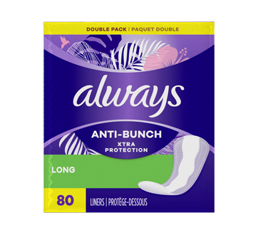 Anti-Bunch Xtra Protection Long Liners, 80 units