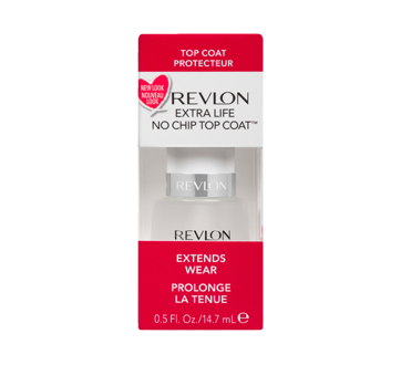 Image 1 of product Revlon - Extra Life No Chip Top Coat, 14.7 ml