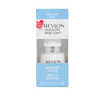 Quick Dry Base Coat, 14.7 ml