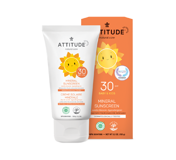Image of product Attitude - Sunscreen SFP 30, 150 g, Vanilla Blossom