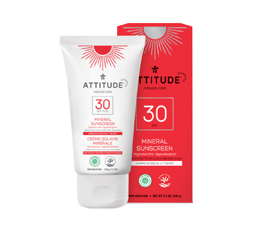Mineral Sunscreen SPF 30, 150 g, Fragrance Free