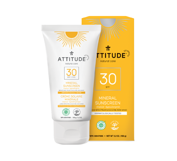 100% Mineral Sunscreen SPF 30, 150 g, Tropical