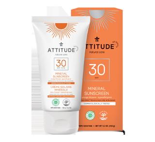 100% Mineral Sunscreen SPF 30, 150 g, Orange Blossom