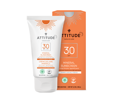 100% Mineral Sunscreen SPF 30, 150 g, Orange Blossom