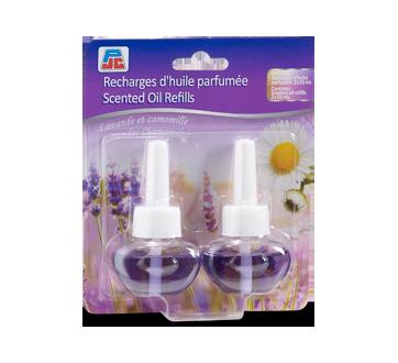 Scented Oil Refills, 2 X 20 ml, Lavender Chamomile