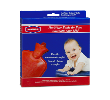 Image of product Mansfield - Hot Water Bottle for Baby, 1 unit