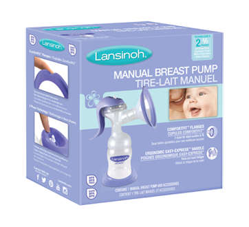 Image 1 of product Lansinoh - Manual Breast Pump, 1 unit