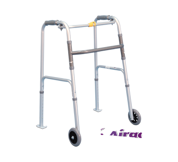 Image of product Airgo - Folding Walker with Wheels 12,7 cm, Adult