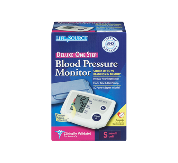 Image 3 of product LifeSource - Automatic Blood Pressure Monitor, 1 unit, Small