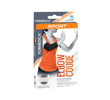 Elbow Stabilizer, 1 unit, Small Black