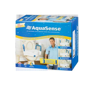 Image 1 of product AquaSense - 3-in-1 Raised Toilet Seat