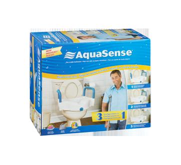 Image 2 of product AquaSense - 3-in-1 Raised Toilet Seat