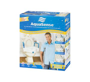 Image 4 of product AquaSense - 3-in-1 Raised Toilet Seat