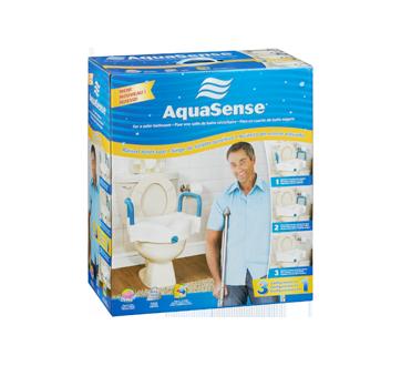Image 5 of product AquaSense - 3-in-1 Raised Toilet Seat