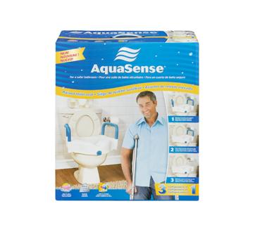 Image 6 of product AquaSense - 3-in-1 Raised Toilet Seat