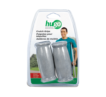 Image of product Hugo - Crutch Hand Grips, Closed, 2 units