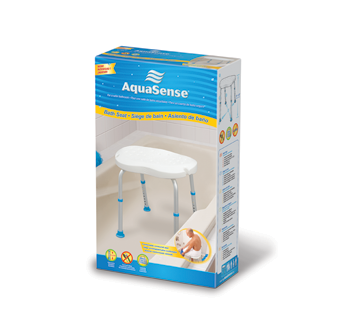 Image of product AquaSense - Bath Seat Without Back, White