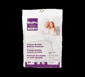 Image of product MedPro - Contour-Fit Vinyl Mattress Protector, 1 unit