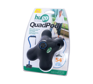 Image of product Hugo - Cane tip Quadpod, 1 unit