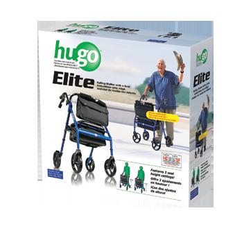 Image 1 of product Hugo - Elite Rollator, 1 unit, Blue