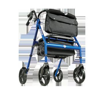 Image 2 of product Hugo - Elite Rollator, 1 unit, Blue