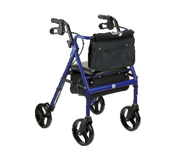 Image 3 of product Hugo - Elite Rollator, 1 unit, Blue