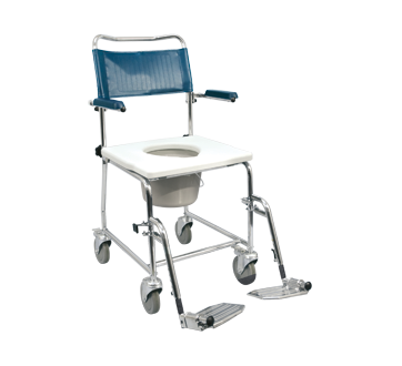 Image of product MedPro - Euro Commode with Drop-Down Armrests, 1 unit