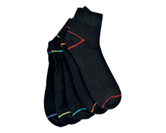Image of product Studio 530 - Sport Men's Socks, 5 units, Black