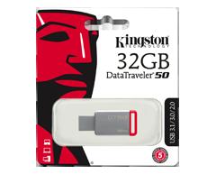 Image of product Kingston - DataTraveler USB 3.0 Flash Drive, 16 GB