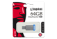 Thumbnail 1 of product Kingston - DataTraveler USB 3.0 Flash Drive, 64 GB, 1 unit