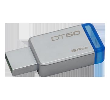 Image 2 of product Kingston - DataTraveler USB 3.0 Flash Drive, 64 GB, 1 unit