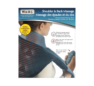 Image of product Wahl - Heated Neck and Back Massager Wrap, 1 unit