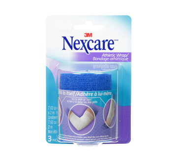 Image of product Nexcare - Athletic Wrap, Blue
