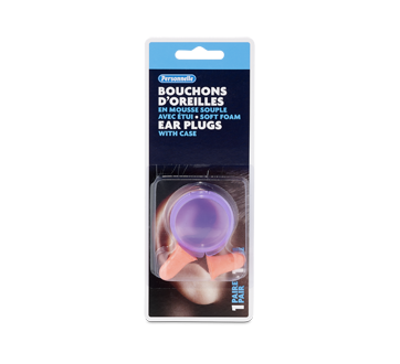Image of product Personnelle - Foam Ear Plugs with Case, 1 unit