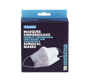 Image of product Personnelle - Surgical Masks, 10 units