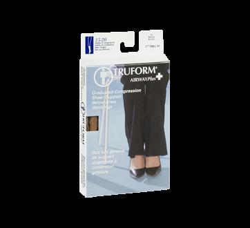 Image 2 of product Truform - Compression Hosiery for Women, 15-20 mmhg, Beige, Medium