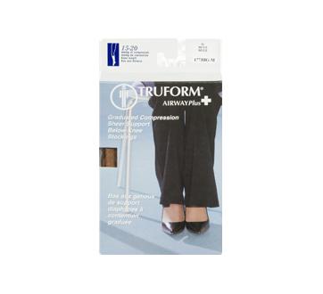 Image 3 of product Truform - Compression Hosiery for Women, 15-20 mmhg, Beige, Medium