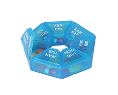 Image of product Personnelle - 7-Sided Pill Reminder, 1 unit