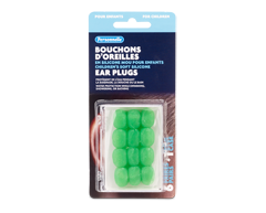 Image of product Personnelle - Children's Soft Silicone Ear Plugs, 6 pairs