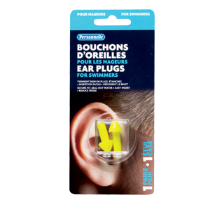 Ear Plugs for Swimmers, 1 unit