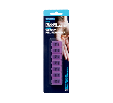 Image of product Personnelle - Weekly Pill Reminder, 1 unit, Small